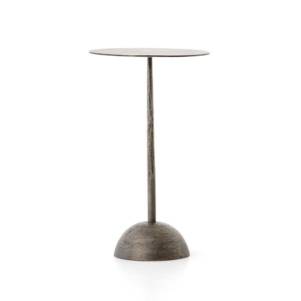 Industrial Cast Iron Adela End Table For Sale - Image 13 of 13
