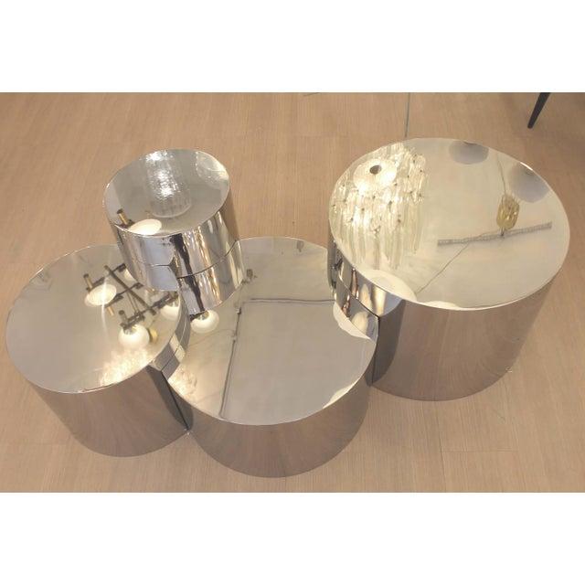 "Gaspare Asaro ""Geometria: Cerchi #4"" Coffee Table For Sale - Image 4 of 12"
