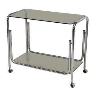 Mid-Century Modern Drink Cart Server For Sale