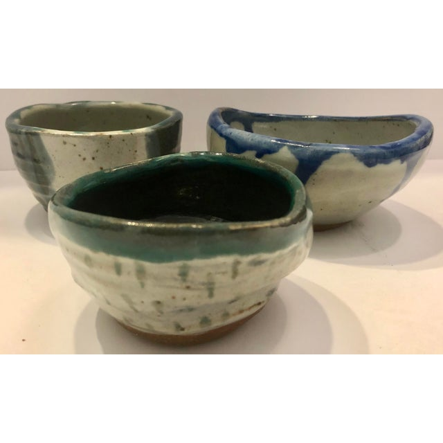 Set of 3 Artistic Potteries/Signed For Sale - Image 9 of 9
