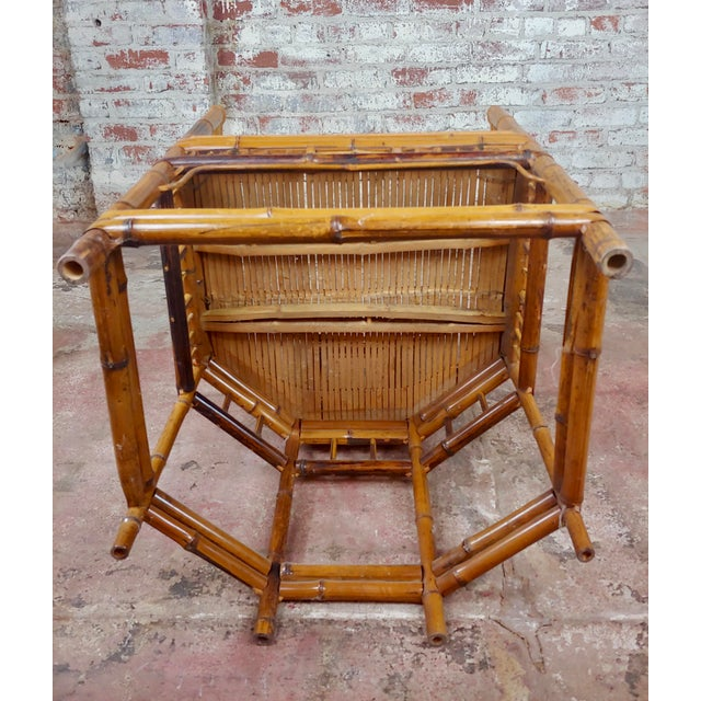 Brighton Pavilion Chinoiserie Chippendale Bamboo Armchairs Circa 1920s - A Pair For Sale - Image 9 of 10