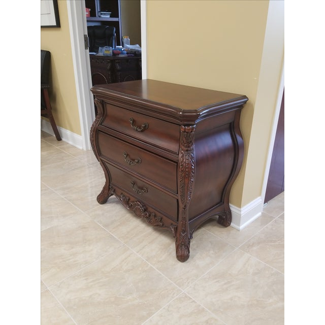 Victorian King Post Bed Nightstand - Image 6 of 8