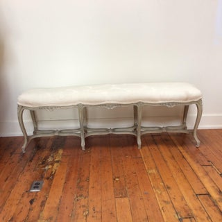 French Painted Finish Long Bench Preview