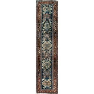 """Vintage Persian Rug, 3'5"""" X 14'8"""" For Sale"""
