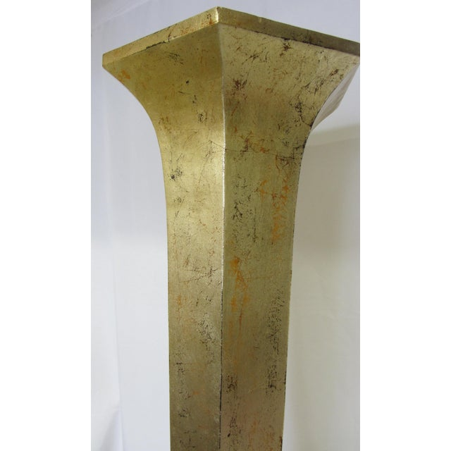 Christopher Guy Small Giltwood Floor Candlestick - Image 7 of 8