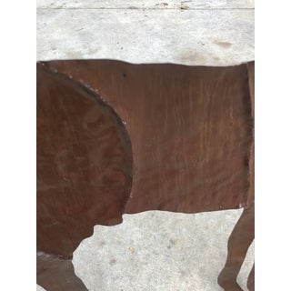 Rustic Metal Decorative Horse Wall Hanging Preview