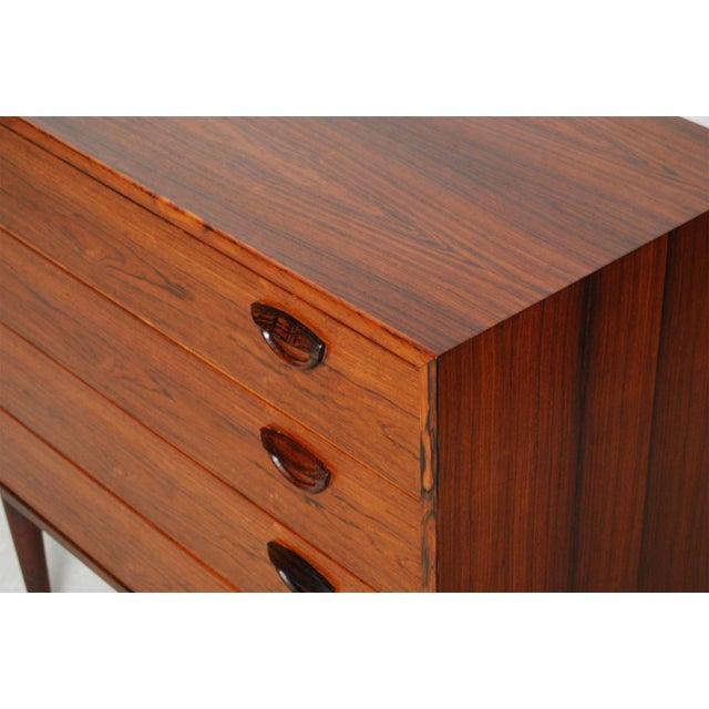 Vintage Kai Kristiansen Danish Mid-Century Modern Rosewood Dresser - Image 6 of 6