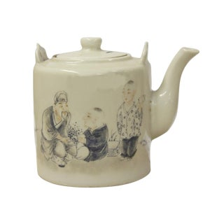Chinese Filial Piety Decorative Teapot For Sale