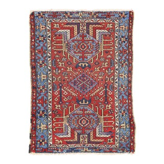 Antique Heriz Persian Rug with Modern Tribal Style