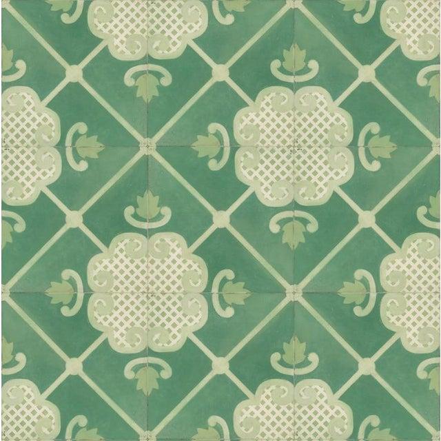 Celerie Kemble Folly Hardwood Tile - 1 Box, 14 Tiles For Sale