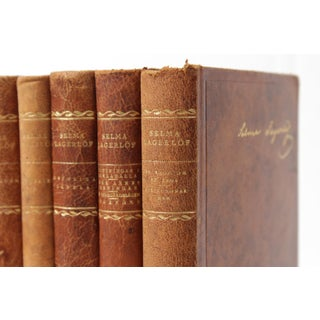 Scandinavian Leather-Bound Books S/6 Preview