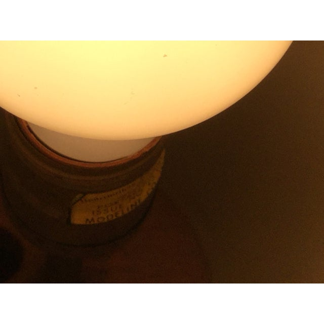 Modeline Brass and Rattan Modern Table Lamp - Image 9 of 9