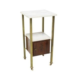 1920s French Art Deco Nightstand For Sale