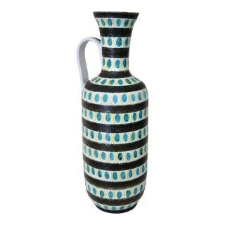 1940s Faience Vase Designed by Stig Lindberg For Sale