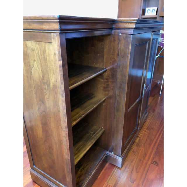Grange Louis-Philippe Entertainment Center/Armoire For Sale - Image 9 of 11