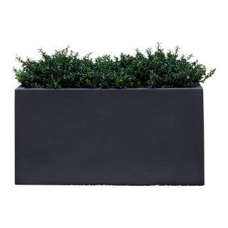 Bramley Rectangle Planter, Short, Lead Lite For Sale