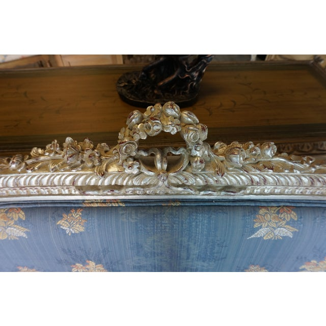 Hand Carved European Settee - Image 8 of 8
