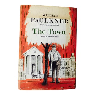 "1957 Americana Printing ""The Town"" by William Faulkner For Sale"