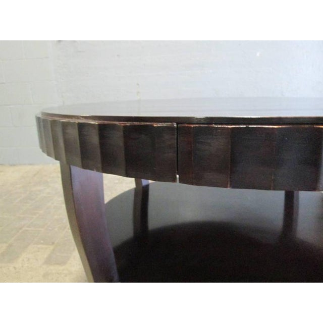 1990s Barbara Barry Centre Table for Baker Furniture Company For Sale - Image 5 of 6