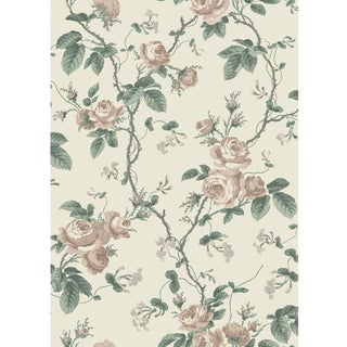 French Roses Wallpaper by Borastapeter Wallpaper - This Is a Sample For Sale