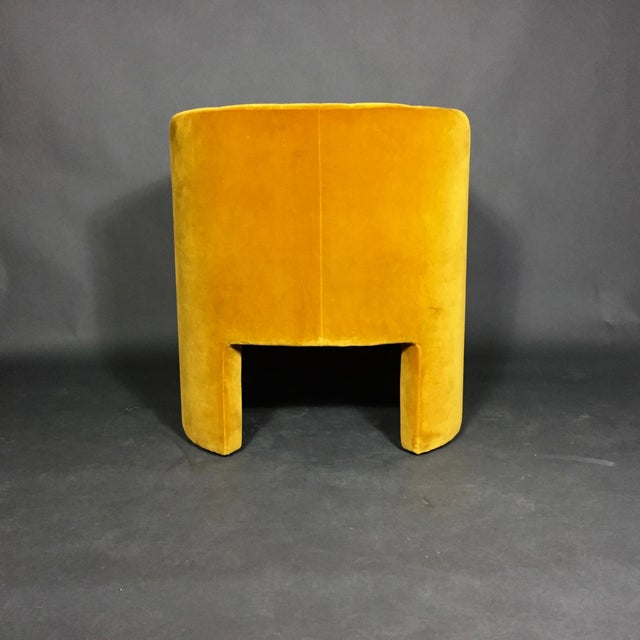 "Textile ""Loafer"" Club Chair by Space Copenhagen, Dandelion Velvet For Sale - Image 7 of 10"