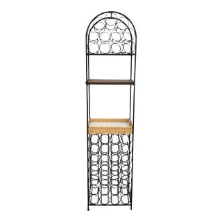 Arthur Umanoff 39 Bottle Wine Rack For Sale