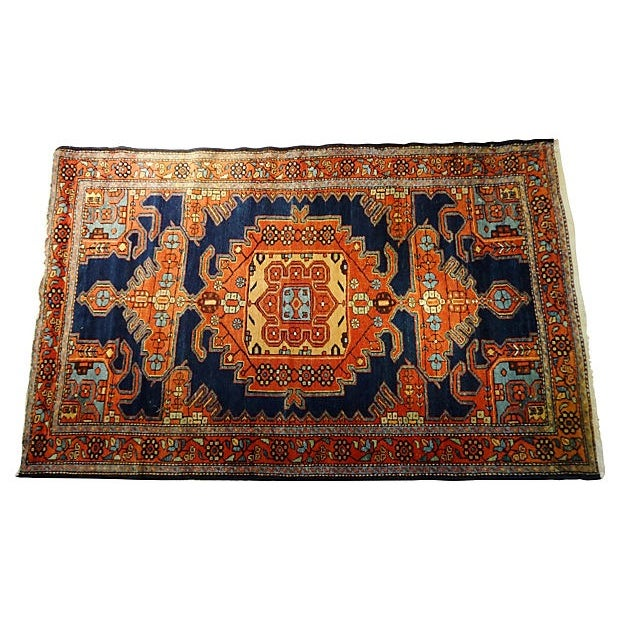 """Antique Malayer Rug - 6'4"""" x 4' For Sale"""