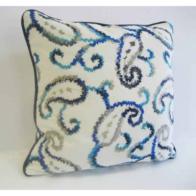Antique Embroidered Bulgaro Pillow - Image 3 of 5
