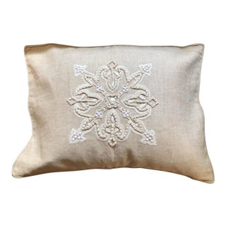 Ankasa Linen 'En Francais' Pillow Cover For Sale