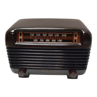 1948 Philco Mid-Century Transitone Tube Radio For Sale
