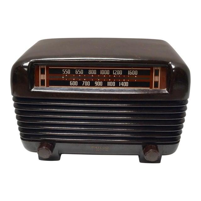 1948 Philco Mid Century Transitone Tube Radio