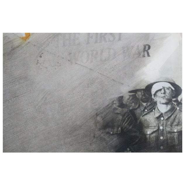 Wolf Vostell Wwi Overprint For Sale - Image 4 of 7