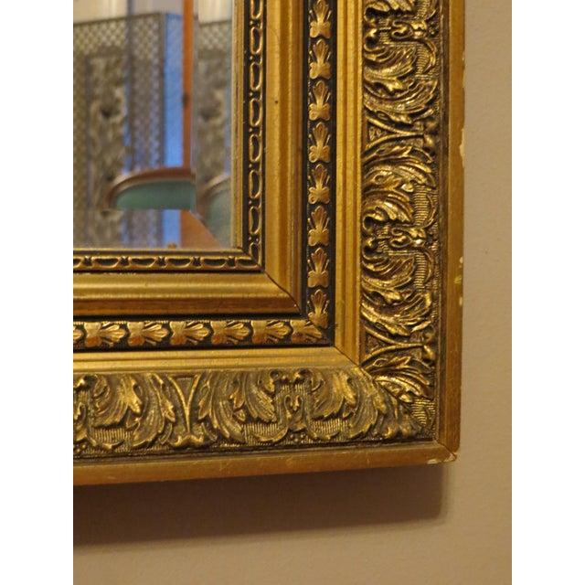 Vintage Large Gilt Framed Mirror - Image 2 of 4