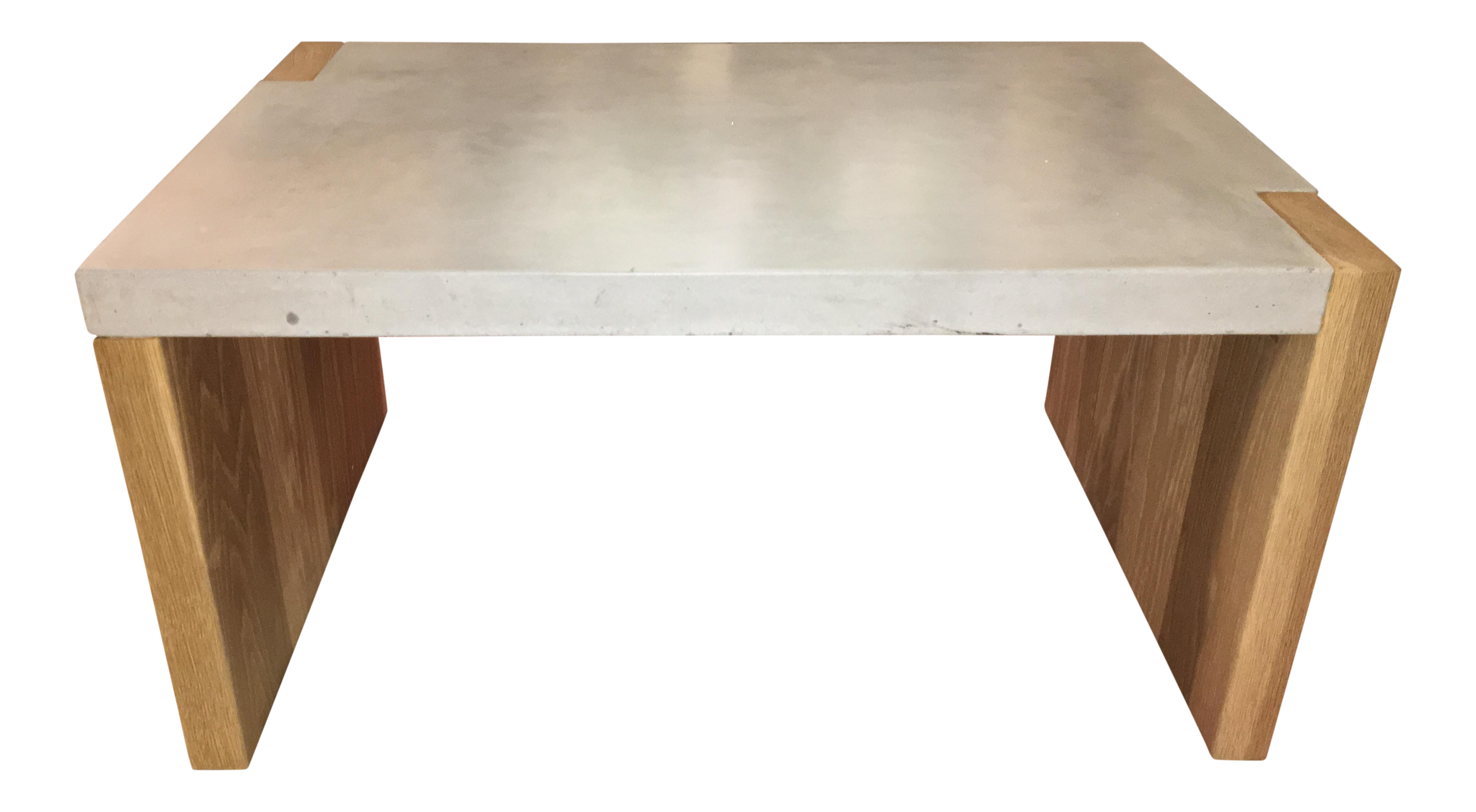 Distinguished Concrete Top Coffee Table Decaso