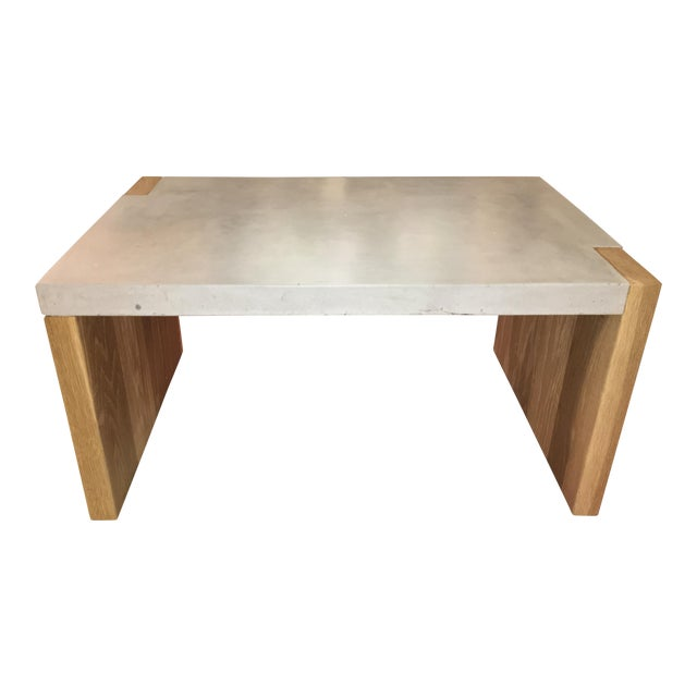 Concrete Top Coffee Table For Sale