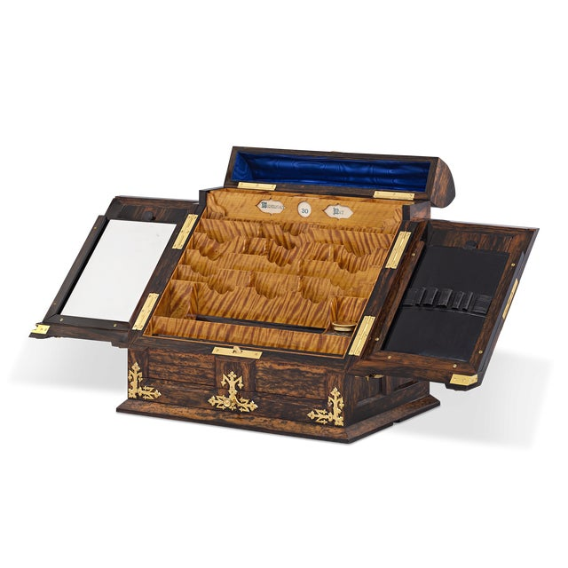An exceptional example of Tiffany & Co. craftsmanship, this incredible writing box is the only one of its kind known,...
