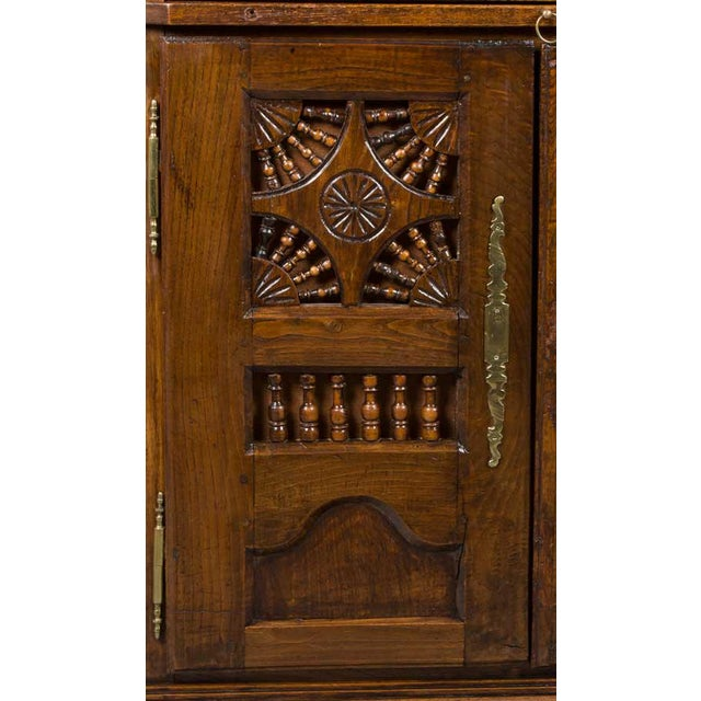 Brown 19th Century Jacobean Carved Oak Wardrobe For Sale - Image 8 of 12