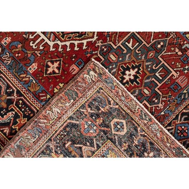 "Apadana - Vintage Persian Heriz Rug, 4'9"" X 6'1"" For Sale - Image 4 of 6"