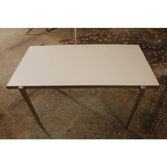 Handmade Steel Pillow Bench - Image 6 of 7
