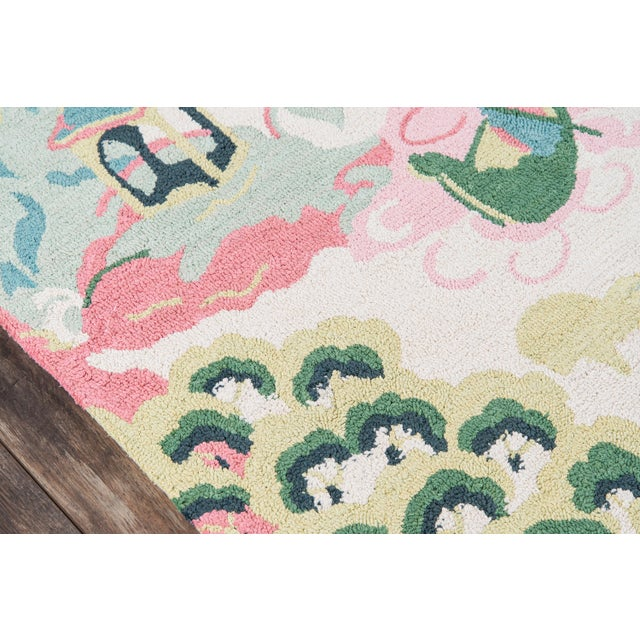 """Contemporary Madcap Cottage Embrace Ivory Area Rug 2'3"""" X 8' Runner For Sale - Image 3 of 7"""