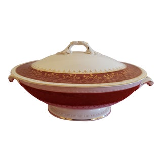 1930s Craftsman Covered Vegetable Dish For Sale