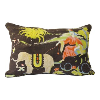 Printed Linen Pillow