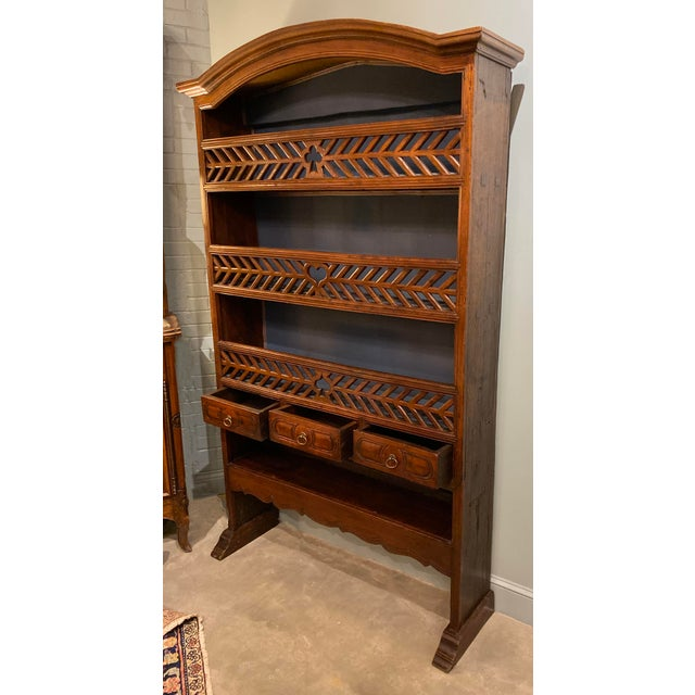 French 19th Century Antique French Bookcase For Sale - Image 3 of 8