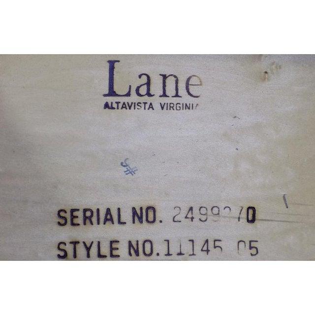 Brown Lane Oak & Walnut Parquet Top End Table For Sale - Image 8 of 12