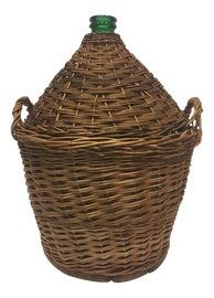 Image of Wicker Bottles and Jars and Jugs