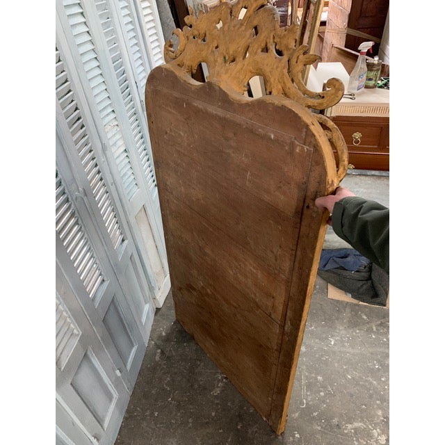 18th Century Ornate French Louis Philippe Style Mirror For Sale - Image 12 of 13