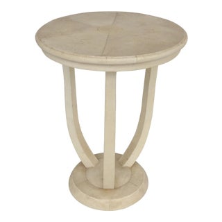 Maitland Smith Shagreen Clad Side Table For Sale