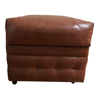Storage Ottomans on Locking Casters For Sale