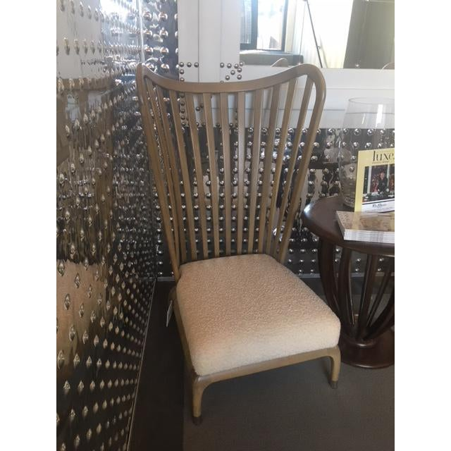 Boho Chic Java Wing Chair For Sale - Image 3 of 6