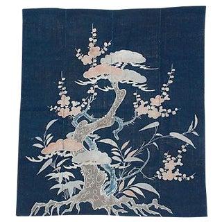 Antique Tsutsugaki Ceremonial Futon Cover For Sale